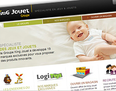 site internet groupe king jouet